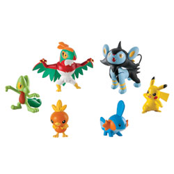 Pack figurines de combat Pokemon