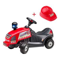 Porteur Pompiers avec Casque