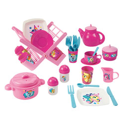 Dinette et Egouttoir My little Pony
