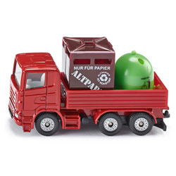 Camion de recyclage