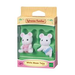 Sylvanian Families - 3221- Jumeaux souris blanche
