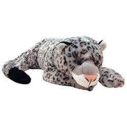 Peluche Leopard des neiges 75 cm