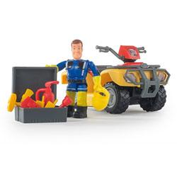 Sam le pompier - quad mercure - + 8 accessoires - + 1 figurine incluse
