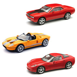 Voiture die cast 1/43 assortiment