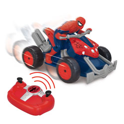 Moto Quad Radiocommandée Spiderman