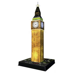 Puzzle 3D Big Ben Led