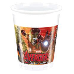 Gobelets Avengers 200 ml