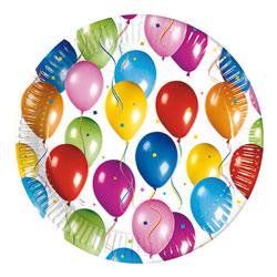 Assiettes Ballons