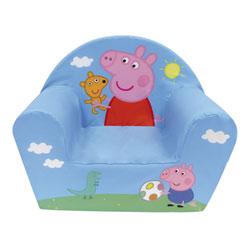 Fauteuil club Peppa Pig en mousse