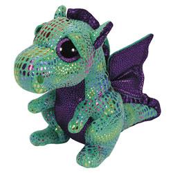Peluche Beanie Boo's Small Cinder le Dragon