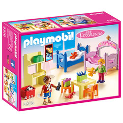 5306 - Chambre d'enfants avec lits superposés - Playmobil Dollhouse