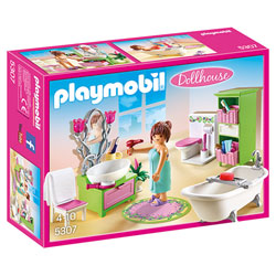 5307 - Salle de bain et baignoire - Playmobil Dollhouse