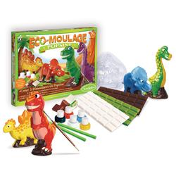 Popsine éco-moulage les dinosaures