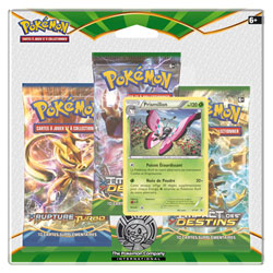 Pokemon Pack 3 Boosters XY10