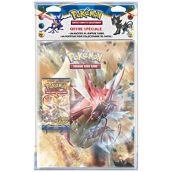 Pack Pokemon Cahier avec Boost XY09