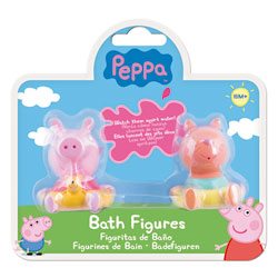 Figurines de Bain Peppa Pig