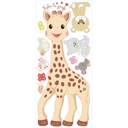 Sticker géant repositionnable Sophie La Girafe