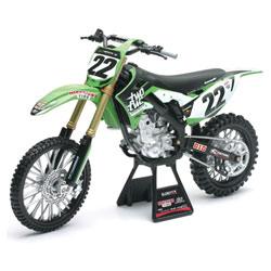 Moto Kawasaki KX 450F N°22 Chad