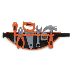 Ceinture à outils black & decker - 6 accessoires