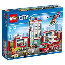 60110-La caserne des pompiers