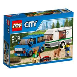 60117-La camionnette et sa caravane
