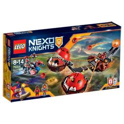 70314-Lego nexo knights chariot chaos