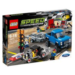 75875-Ford F-150 Raptor et le bolide Ford Modèle A