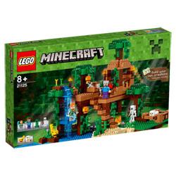 21125-Minecraft La cabane dans l'arbre de la jungle