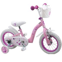 Vélo 12 pouces rose