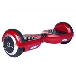 Gyropode-Hoverboard électrique rouge