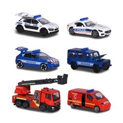 Coffret 3 véhicules SOS Cars Majorette