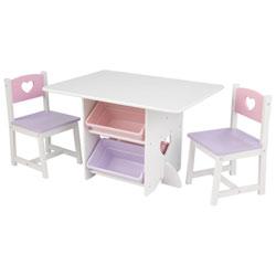 Ensemble Table Et 2 Chaises Cœur