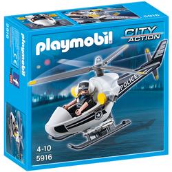 5916 - Playmobil City Action - Hélicoptère Monoplace de Police