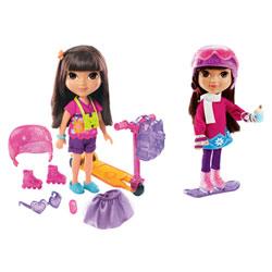 Poupée Dora avec accessoires