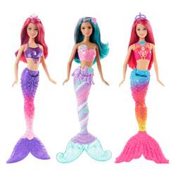 Barbie sirène multicolore