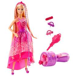 Barbie Princesse tresse magique