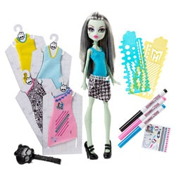 Monster High Poupée Tenues Sang-Sationnelles