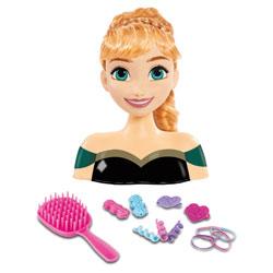 Tête à coiffer Anna La reine des neiges