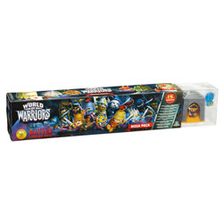 World of Warriors Coffret 15 Guerriers avec 3 Temples