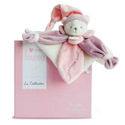J'aime mon Doudou Collector Ours Rose 24 cm