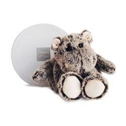 Peluche Boulidoux Hippopotame 20 cm