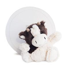 Peluche Boulidoux Vache 20 cm