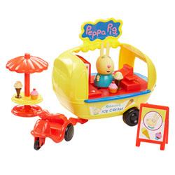 Camion à glaces Peppa Pig