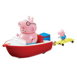 Le hors bord Peppa Pig