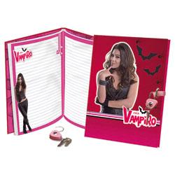 Journal intime avec cadenas Chica Vampiro