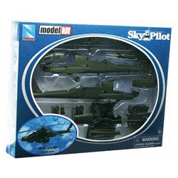 Hélicoptère Apache 1/72 ème
