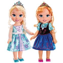 Coffret Poupée Elsa et Anna 33cm