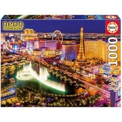 Puzzle 1000 pièces – Las Vegas Neon fluorescent