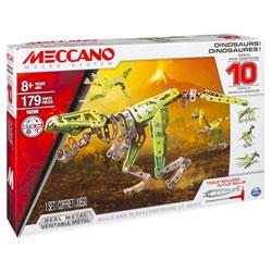 Meccano Dinosaures 10 modèles