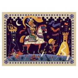 Puzzle Don Quichotte 36 pièces